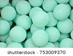 light blue colorful cotton... | Shutterstock . vector #753009370