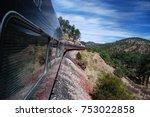 Small photo of Chepe train in Barranca del Cobre