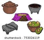 hand drawn vector illustration...   Shutterstock .eps vector #753026119