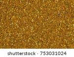 bronze background glitter with... | Shutterstock . vector #753031024