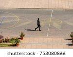 dakar  senegal   apr 23  2017 ... | Shutterstock . vector #753080866