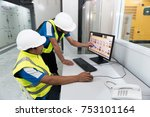 electrical engineering with... | Shutterstock . vector #753101164