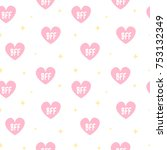 Cute Lovely Pink Hearts With...
