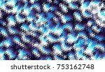 abstract digital fractal... | Shutterstock . vector #753162748