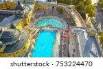 Aerial Shot Of Swimming Pool...