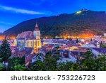 brasov  transylvania. romania.... | Shutterstock . vector #753226723