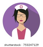 doctor web icon. nurse medical... | Shutterstock .eps vector #753247129