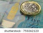 British One Pound  Gbp  Coin...