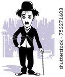 Cartoon Charlie Chaplin