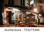paris   france  november 11 ... | Shutterstock . vector #753275380