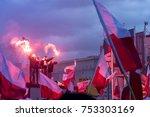 warsaw  poland   november 11 ...   Shutterstock . vector #753303169