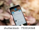 chiangmai  thailand   nov 10 ...   Shutterstock . vector #753314368