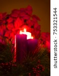 Small photo of Three Advent Candles
