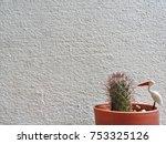 background of cactus | Shutterstock . vector #753325126