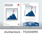 covers design with space for... | Shutterstock .eps vector #753334090