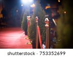 red carpet    is traditionally... | Shutterstock . vector #753352699