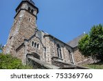 church in neunkirchen   Shutterstock . vector #753369760