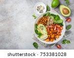 Healhty Vegan Lunch Bowl....