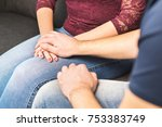 boyfriend apologize to... | Shutterstock . vector #753383749