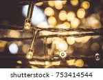 small night light bulb led and... | Shutterstock . vector #753414544