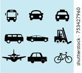 bus icon vector | Shutterstock .eps vector #753427960