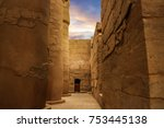 The Ancient Luxor Temple At...