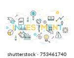 creative infographic banner... | Shutterstock .eps vector #753461740