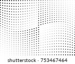 abstract halftone wave dotted... | Shutterstock .eps vector #753467464