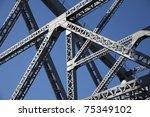 steel structure   Shutterstock . vector #75349102