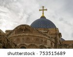 the top of dome on church of... | Shutterstock . vector #753515689
