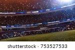 Soccer Stadium Fans Bokeh...
