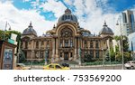 Small photo of Bucharest, Romania - September 9, 2017: Panoramic view of the The CEC Palace, The Palace of the Savings Bank in the historical center Lipscani Street, Bucharest, Romania.