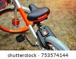 singapore   oct 8  2017  mobike ...   Shutterstock . vector #753574144