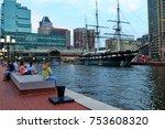baltimore  md  usa june 25 ... | Shutterstock . vector #753608320
