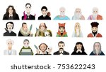 greatest writers and... | Shutterstock .eps vector #753622243
