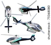 3d Helicopter Collection...