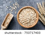 Rolled Oats Or Oat Flakes In...