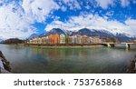 innsbruck austria  ... | Shutterstock . vector #753765868