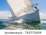Close Up Of Sailing Boat  Sail...