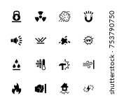 influence icons   expand to any ... | Shutterstock .eps vector #753790750