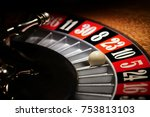 Macro Shot Of A Roulette In A...