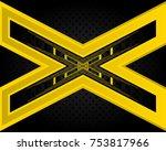 vector of abstract metallic...   Shutterstock .eps vector #753817966