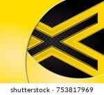 vector of abstract metallic...   Shutterstock .eps vector #753817969