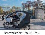 paris  france    november 7 ... | Shutterstock . vector #753821980