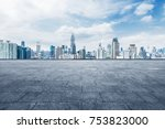 cityscape and skyline of... | Shutterstock . vector #753823000