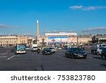 paris  france    november 7 ... | Shutterstock . vector #753823780
