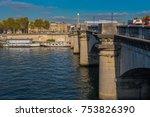 paris  france    november 7 ... | Shutterstock . vector #753826390