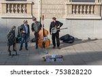 paris  france    november 7 ... | Shutterstock . vector #753828220