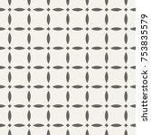 abstract seamless pattern.... | Shutterstock .eps vector #753835579