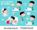 Kids Daily Routine   Little Bo...